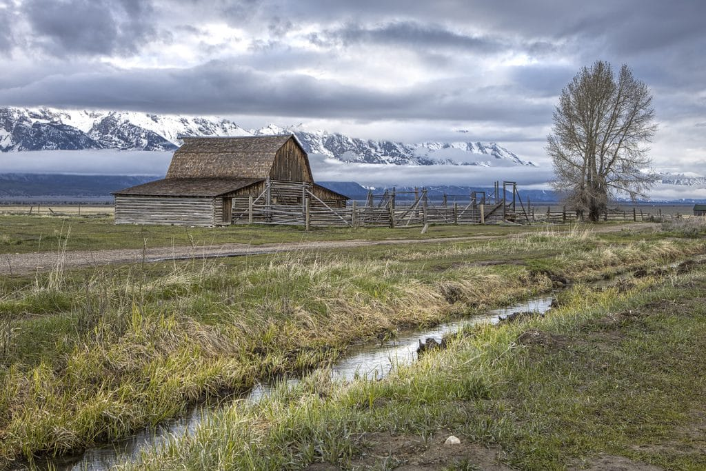 Grand Tetons in Wyoming.